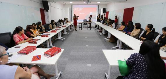 Make-up Workshop for Bankers by Ma Htet (Pop Soul)