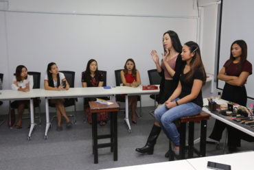 Make-up Workshop for Bankers by Ma Htet (Pop Soul)