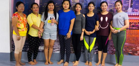 Yoga for Bankers – Myanmar Bankers Club