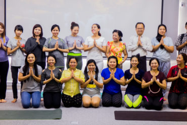 Yoga for Bankers – Myanmar Bankers Club