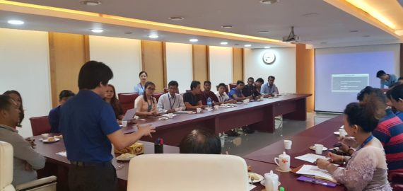 Workshop with Naing Group Capital