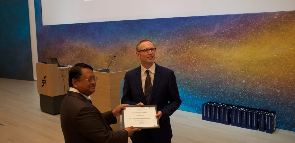 2018 Honorary Fellowship Award – U Khin Maung Aye