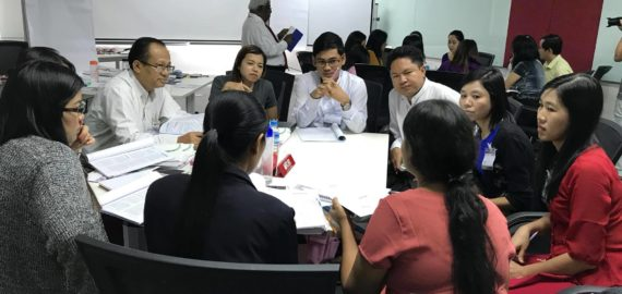 """Omega Credit Performance program ' first cohort in Myanmar """