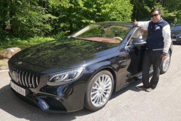 Future of Finance Fellowship – Mercedes AMG Test Drive in Stuttgart