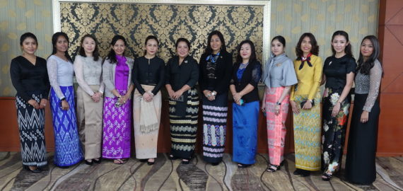 Myanmar Women Leaders Program led by Daw Anna Sui Hluan is in Europe